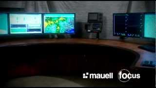 Custom Control Room Console Furniture Mauell Corporation