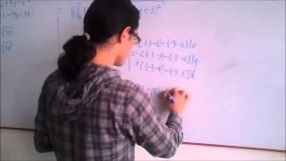 Angulo entre dos vectores (Producto Cruz)