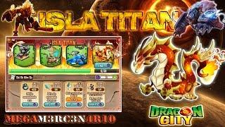 Como obtener el dragon Ragnor - Isla Titan - Dragon City 2015 HD