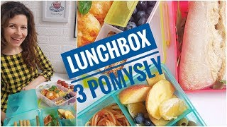 Lunchbox do pracy i szkoły - 3 SPRAWDZONE przepisy