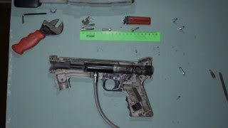 Ремонт Типман 98.( ремонт шептало-бойок)