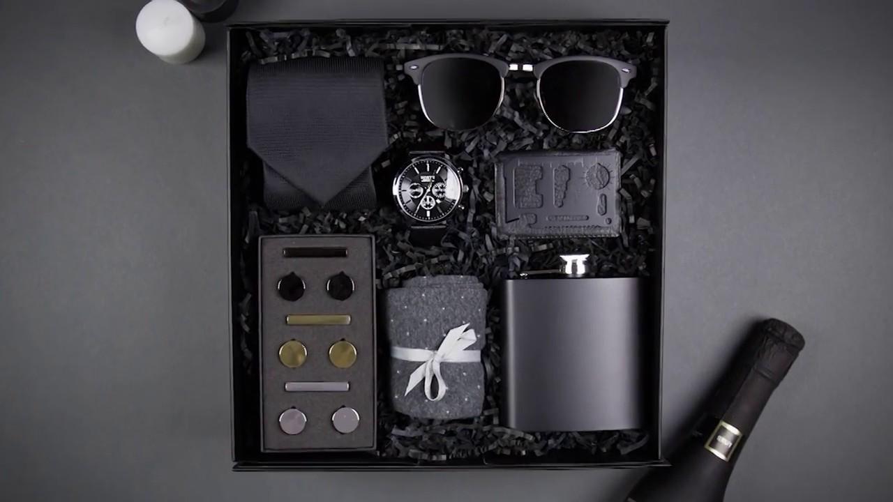 Groomsmen Gift Box Complete Groomsman Gift Set Luxury Gift Box Modern Man Gifts