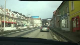 Австрия, дорога в Леобен