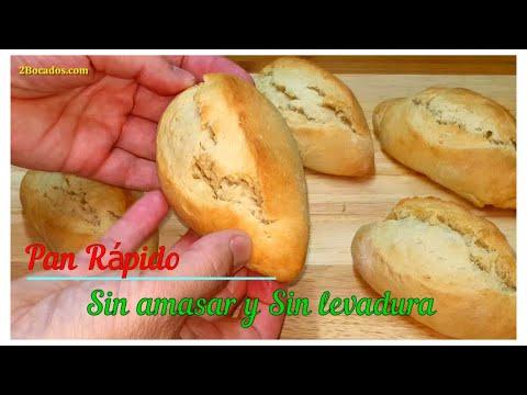Hornee en solo 15 minutos   Sin esperas   Sin amasar   Sin levadura   Receta de pan fácil #72