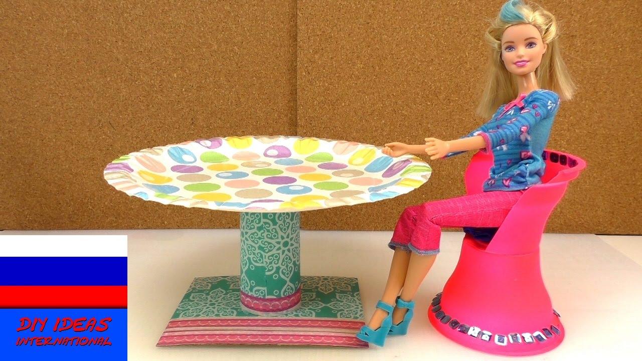 Мебель для кукольного домика своими руками 197