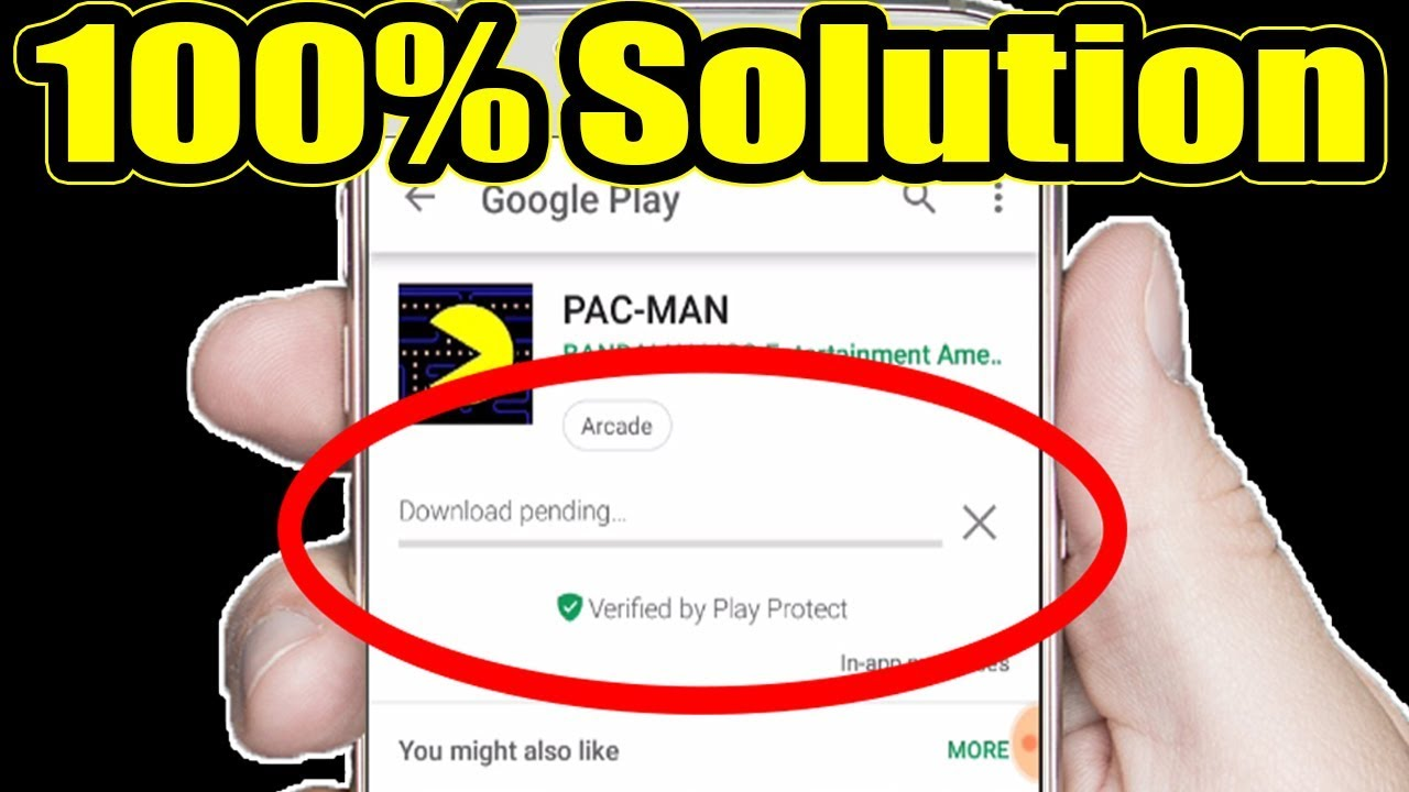 How To Fix Download Pending Problem In Google Play Store