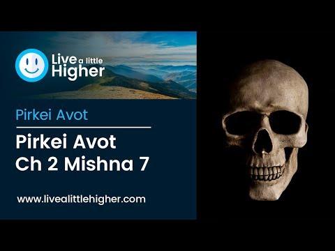 Pirkei Avot Ch 2 Mishna 7