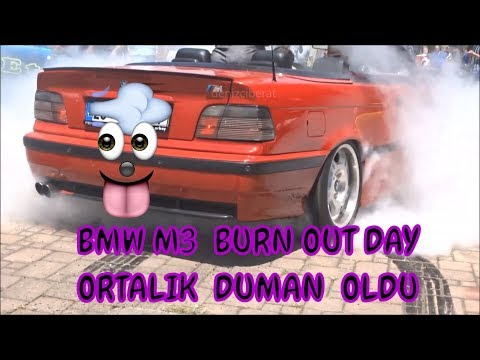 BAKMADAN GEÇME(duman altı olduk)BMW M3 cabrıo lastık yakma,BMW M3 burn out,Car Meating,show,FSM TEAM