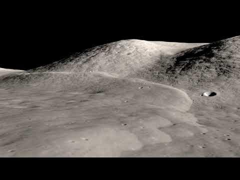 Lee Lincoln Scarp at the Apollo 17 Landing Site