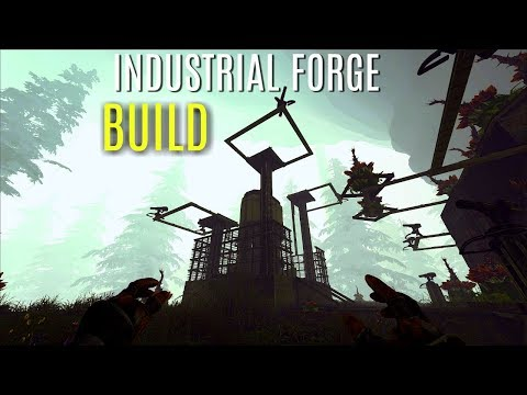 FORTIFIED INDY FORGE Solo Build - The Center PVP (E8) - ARK Survival Gameplay