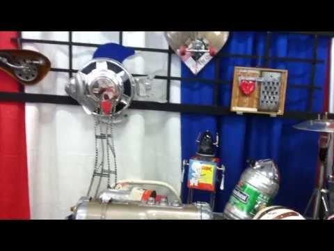 Paul Loughridge Assemblage Art at GoodGals Gallery :-)