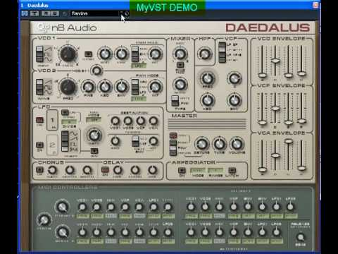 MyVST Demo : Daedalus