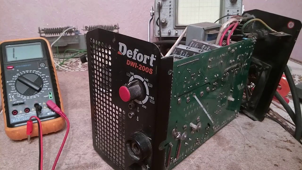 Сварочный аппарат defort 200s описание схема инверторного сварочного аппарата
