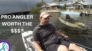 Hobie Mirage Pro Angler 14 TEST DRIVE and TIPS