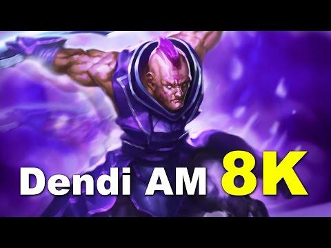 Dendi AM 8K Europe Dota 2