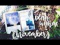 PLAN WITH ME | November 2017 Bullet Journal + October Flip Through