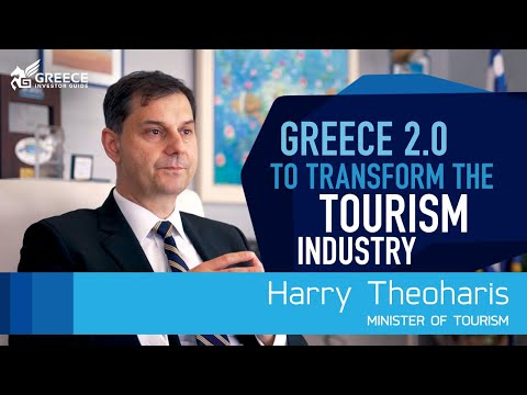 Greece 2.0 will transform the tourism industry: Harry Theoharis, Minister of Tourism