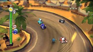 """TNT Racers [XBLA] - """"Time Mode"""" Gameplay - Level 2 / Tutorial II"""