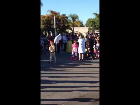 Halloween Parade in Empresa Elementary School 2013