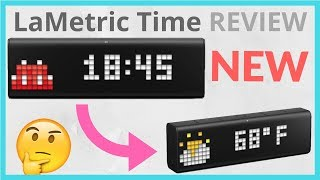 LaMetric Time Review // IS IT WORTH THE MONEY?