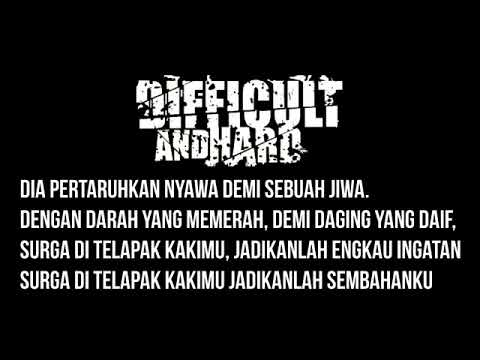 Difficult and Hard   Our Mother Lyrics