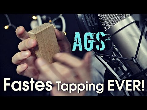 Fastest ASMR Tapping Ever Made (AGS)