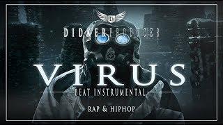 Deep Dark Underground BEAT RAP INSTRUMENTAL HIPHOP - Virus (F117 Records Collab)