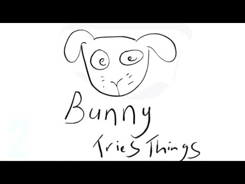Bunny Draws Badly | Trying out my Wacom Tablet on G.I.M.P thumbnail