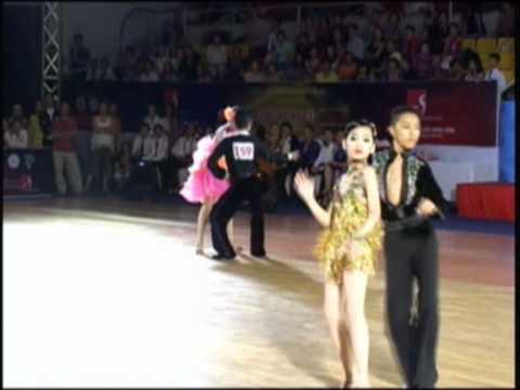 Minh Truong & My An - Cha Cha Cha(Dancesport -Giai tre 2010)