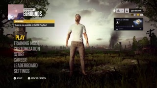 PLAYIN PLAYER UNOWN'S BATTLEGROUNDS ON PS4!!!  With face CAM!!!!!!