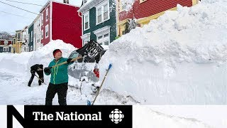 Residents come together after N.L. storm