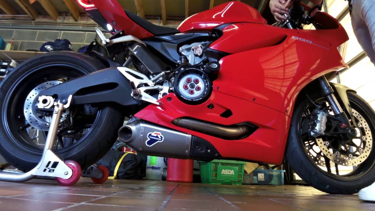 Ducati Panigale Exhaust System