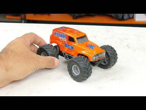 Recalled - $55 Micro ECX Ruckus 1/28 Scale RC Monster Truck