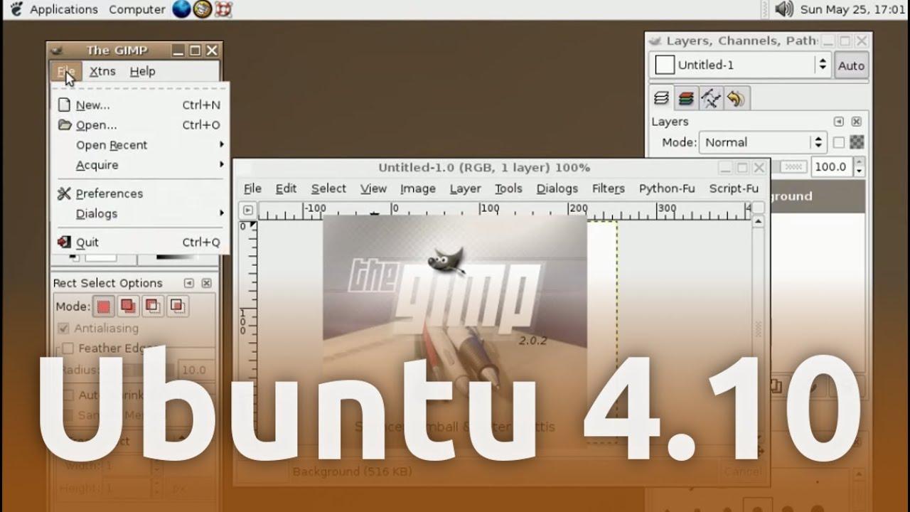 ubuntu warty
