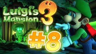 Luigi's Mansion 3 Gameplay !! Walkthrough # 8 Garden Suits 7F !!  !! ᴴᴰ