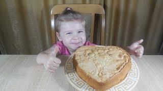✅Быстрый и вкусный яблочный пирог/маленький поваренок/Little cook/fast and delicious apple pie