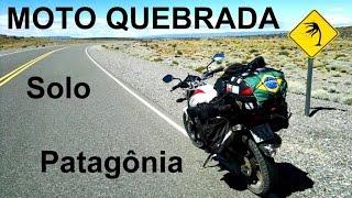 CB300 - Patagônia - Ushuaia, Viagem de moto, Solo, Moto Quebrada, 13.500 km (Vídeo Completo)