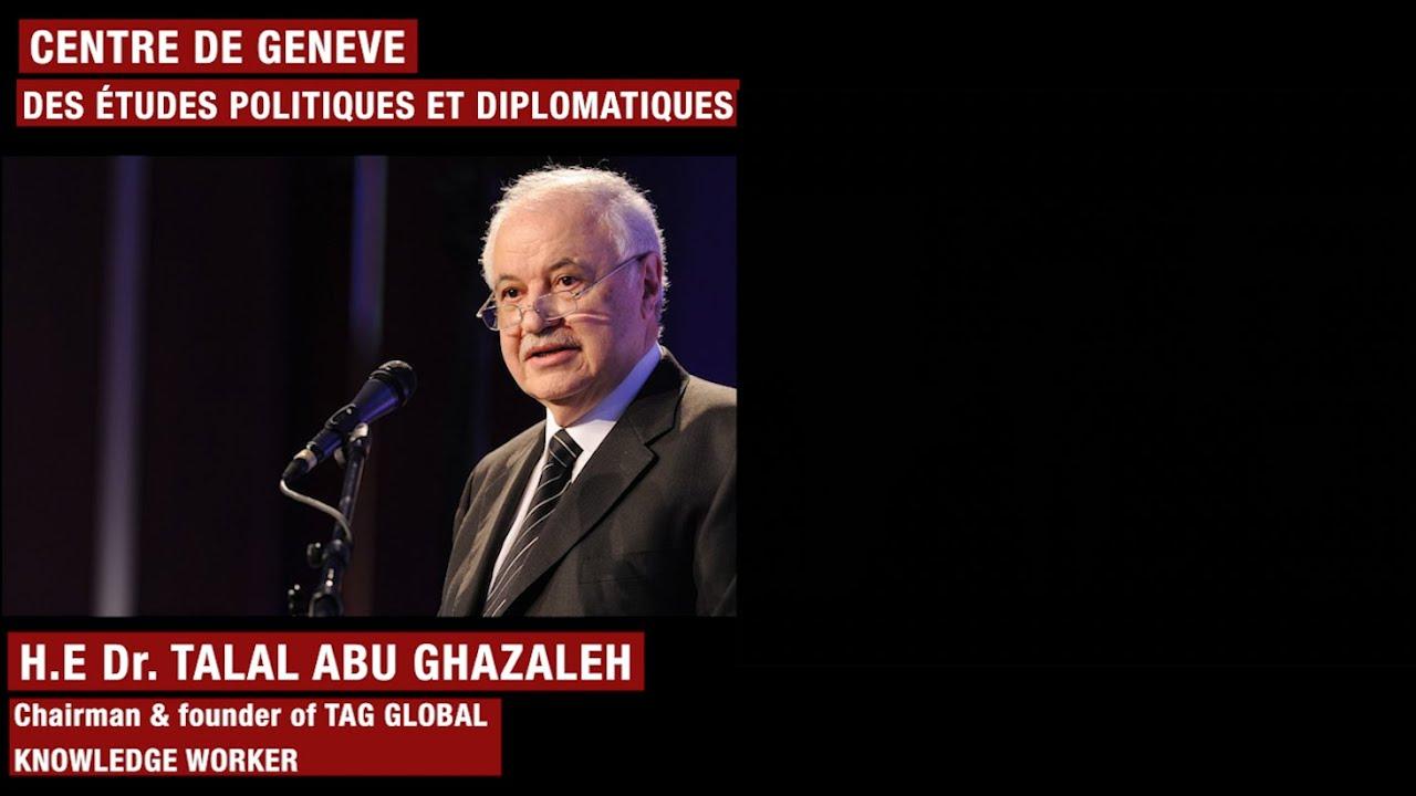 لقاء خاص مع الدكتور طلال أبو غزالة