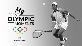 Leander Paes commentates on his medal win from Atlanta 1996 | My Great Olympic Moment