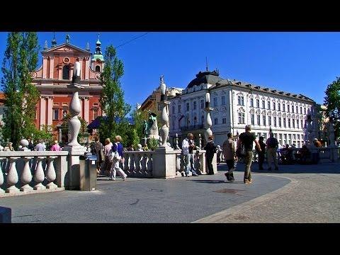 Liubliana / Ljubljana - Slovenia Tourism / Eslovenia turismo - City tour, visit travel capital viaje