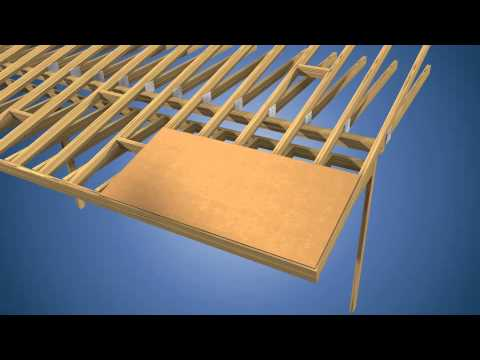 Osb vs plywood sheathing choices doovi for What to use for roof sheathing