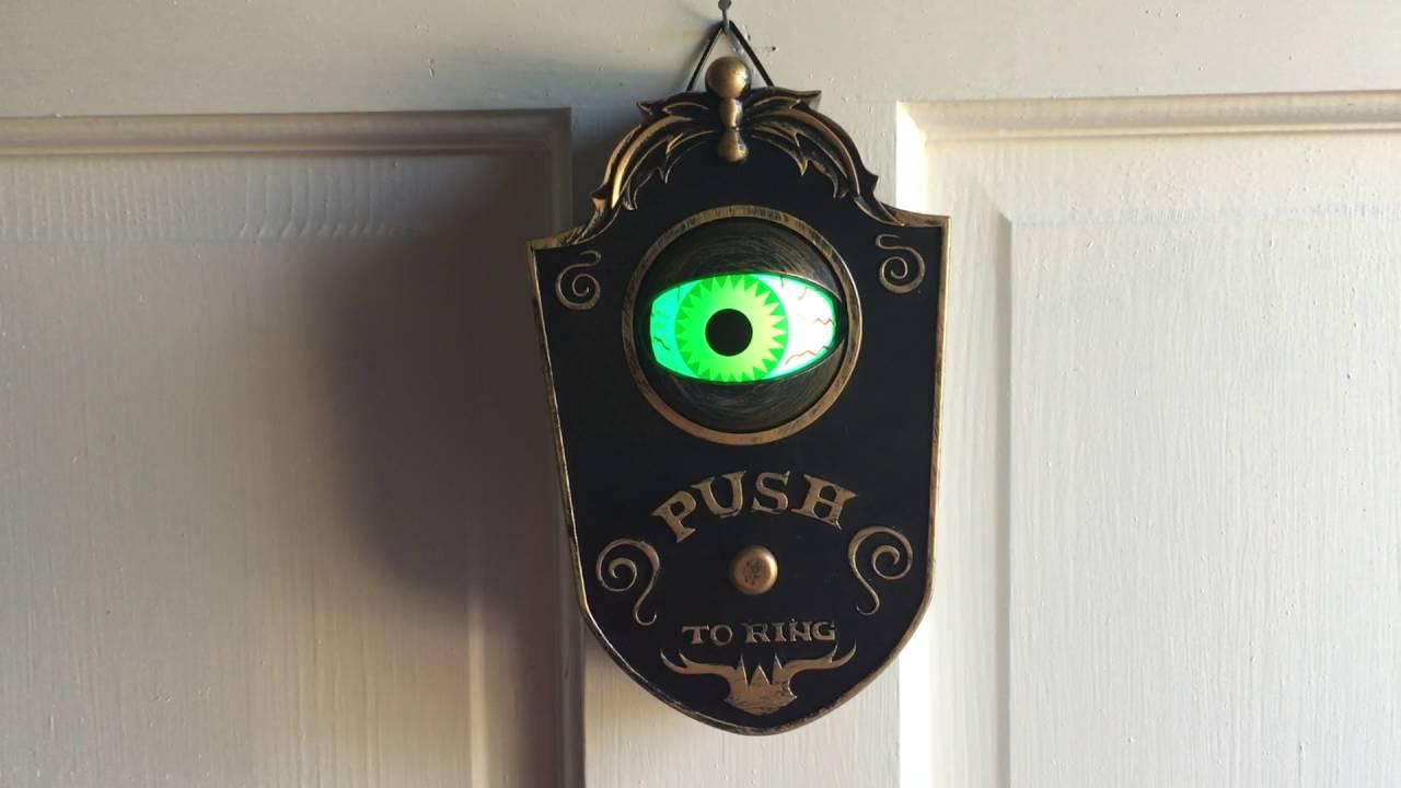 Halloween Doorbell & Halloween Doorbell - YouTube