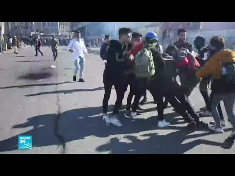 مقتل متظاهرين اثنين في بغداد والناصرية وإصابة العشرات بجروح  - 18:00-2020 / 1 / 27