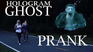 Halloween Hologram Ghost Prank