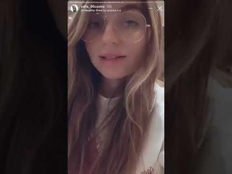 Sofía Castro revela que tiene Covid-19