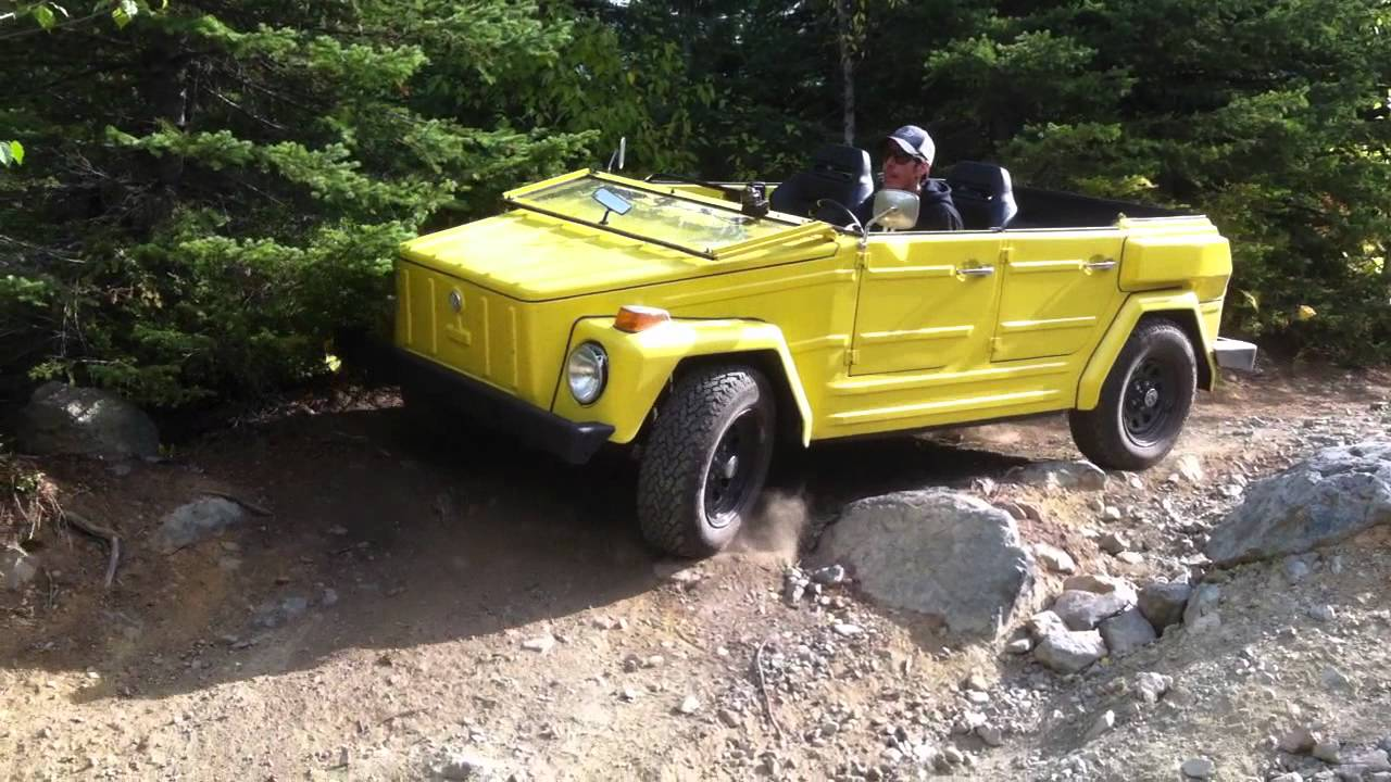 Volkswagen Thing Offroad - YouTube