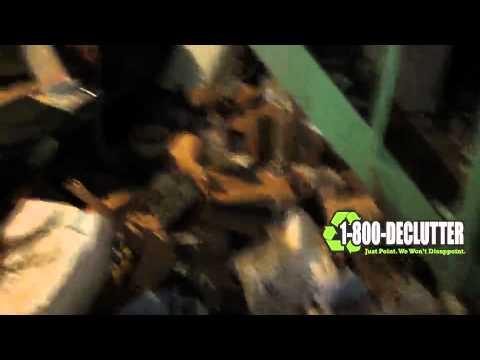 Basement hoarding 1 800 declutter youtube for 1 800 basement