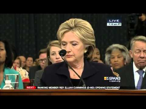 Select Committee on Benghazi Holds Fourth Hearing Part 1