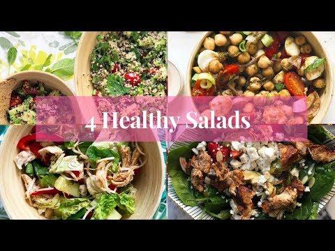 4 ПП-Салата/ Рецепты полезных сытных салатов/ Правильное питание