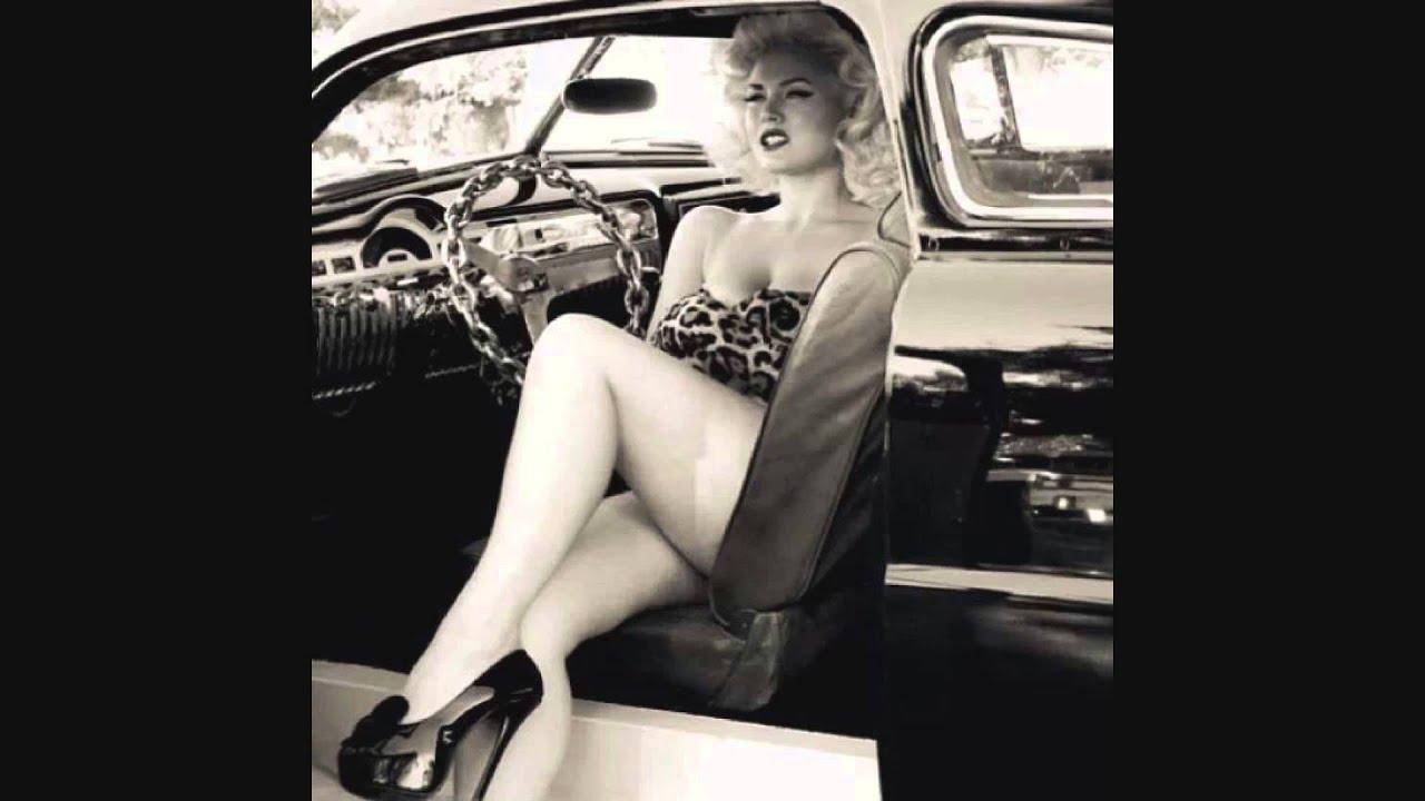 Sexy Hot Rod Ladys Vintage